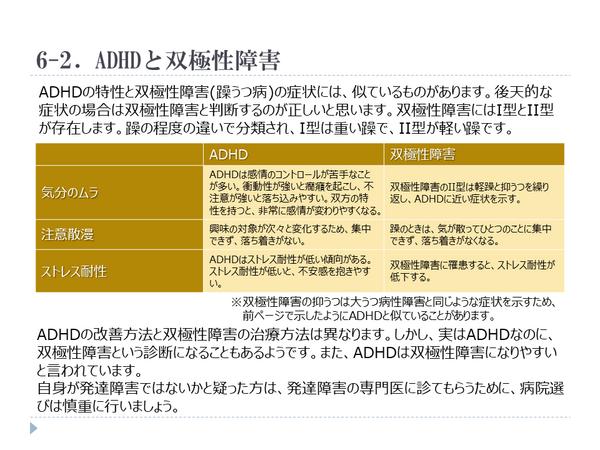 ADHD,双極性障害,躁鬱,躁うつ
